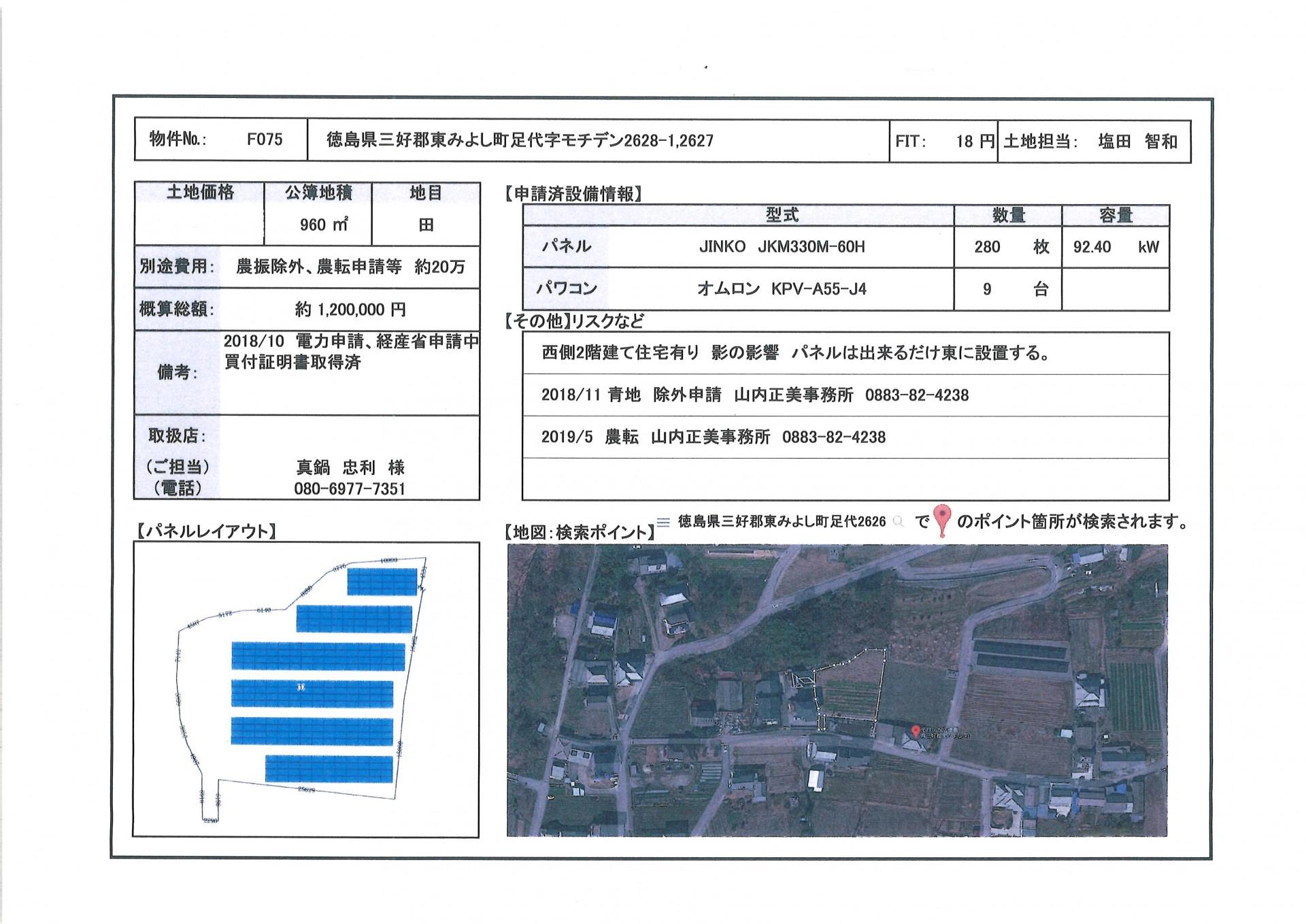 【JPN】FIT18円 徳島県三好郡東みよし町のメイン画像