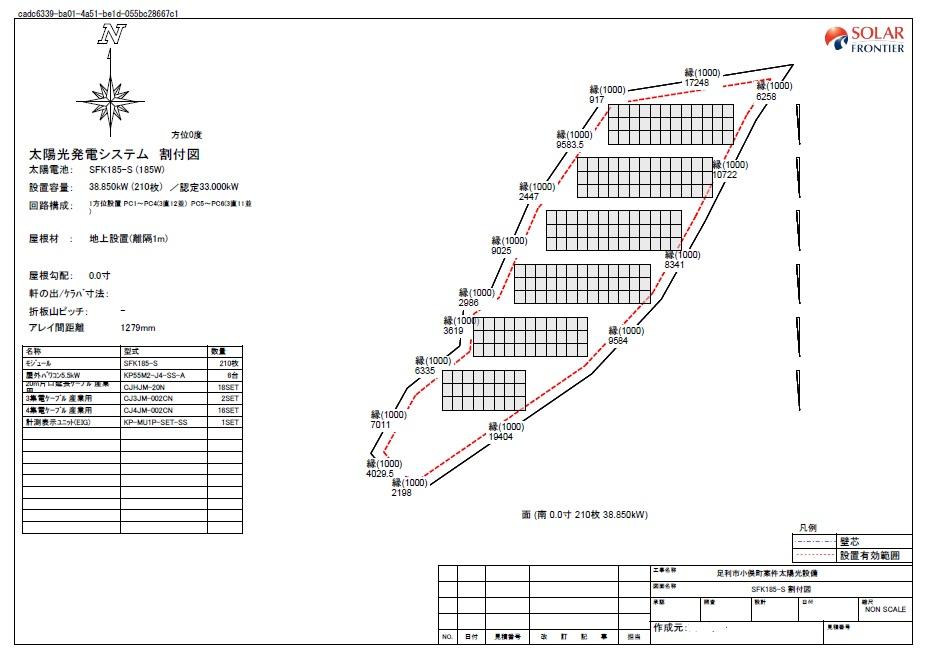 【AD】FIT18円 栃木県足利市小俣町太陽光第一発電所のメイン画像