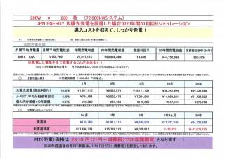 【JPN】FIT21円IS 徳島県吉野川市72.8KWのサブ画像