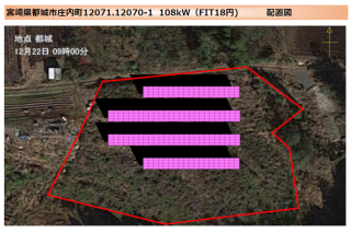 【SB】都城市庄内町太陽光発電所のメイン画像