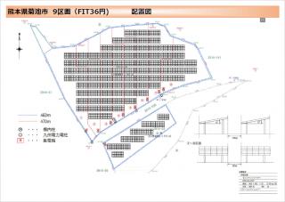 【SB】FIT36円 熊本県菊池市旭志麗太陽光発電所(低圧9区画)のメイン画像