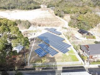 【SB】山口県防府市右上田②太陽光発電所のメイン画像