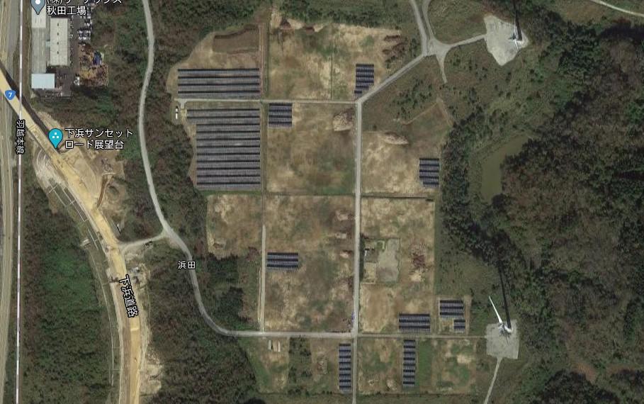 【APM】FIT18円秋田県下浜桂根第八太陽光発電所(87.4kW)のメイン画像