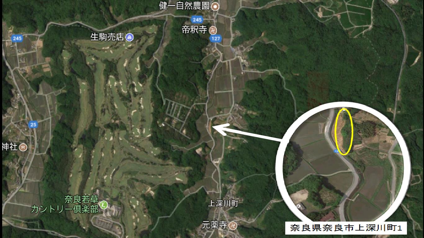 【NKD】FIT24円奈良県奈良市上深川①発電所のメイン画像