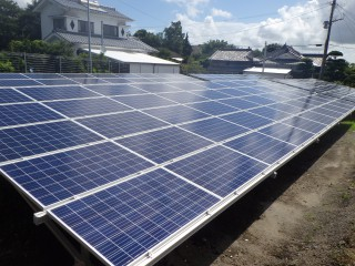 【UE】FIT24円 鹿児島県鹿屋市太陽光発電所のメイン画像
