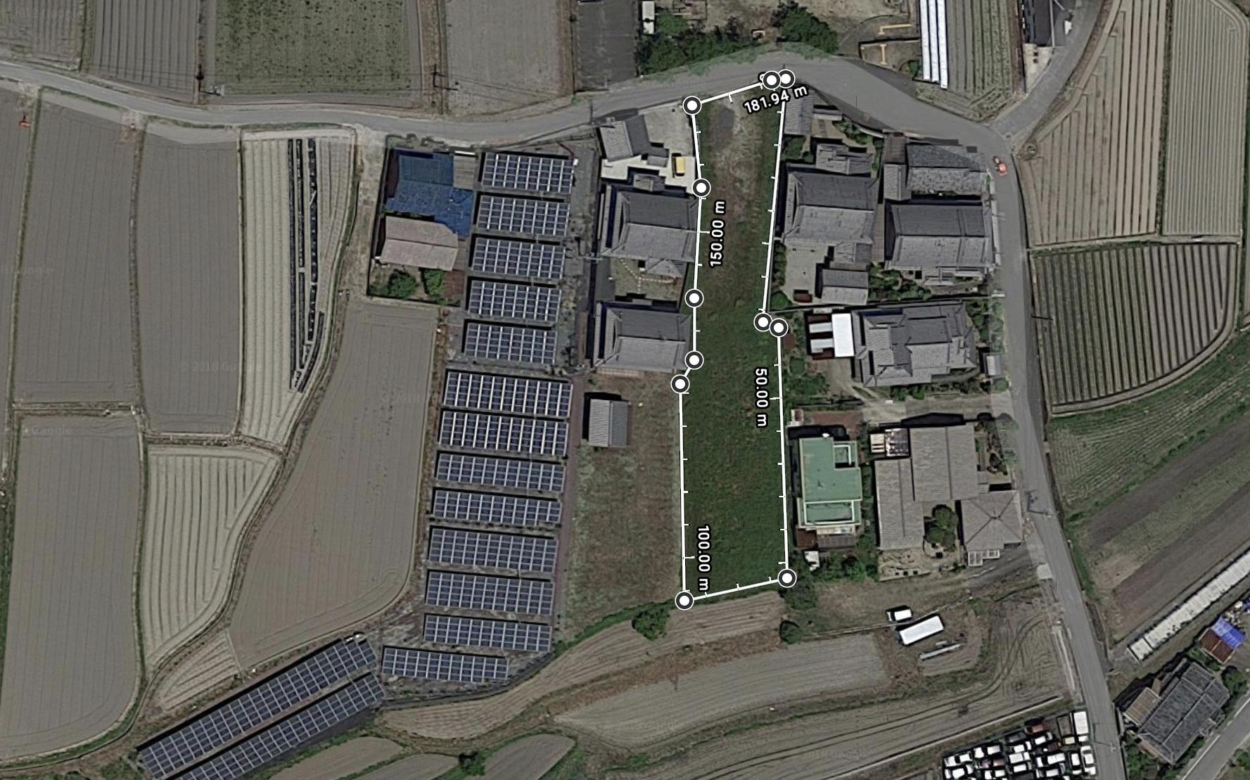 【FLO】FIT21円 奈良県御所市太陽光発電所のメイン画像