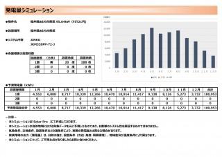 【SB】FIT21円 福井県あわら市熊坂発電所②のサブ画像